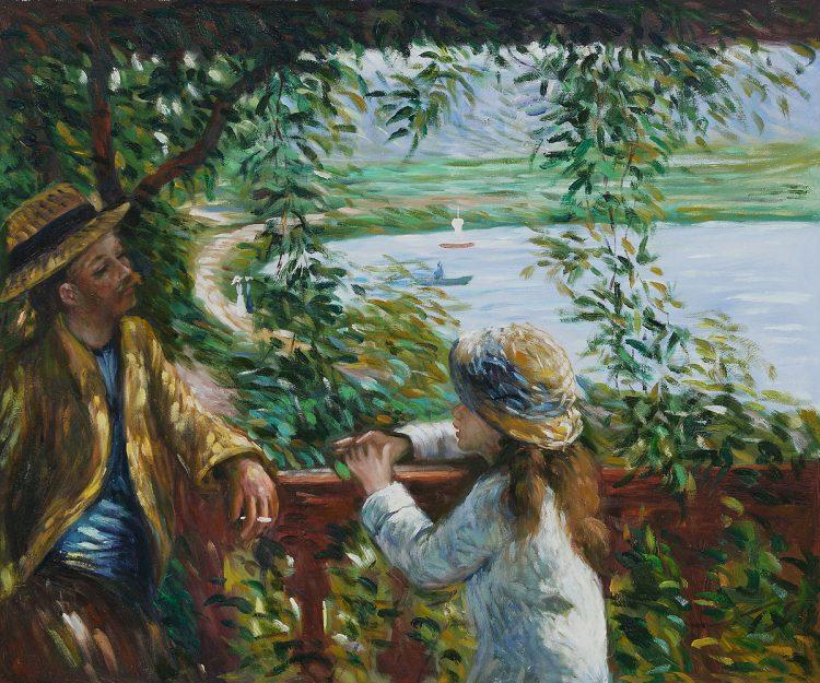 A lovely work of art b Renoir
