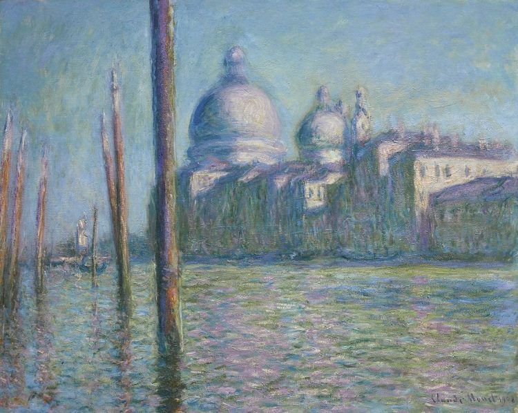 An epic Monet painting with excellent color