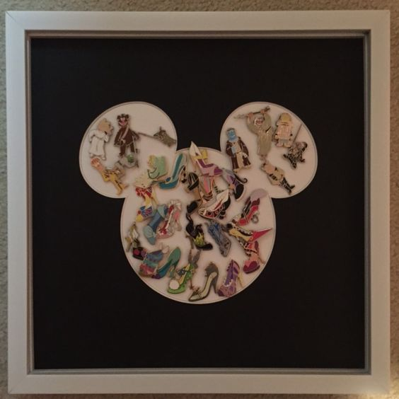 A fun Mickey Mouse shaped matboard