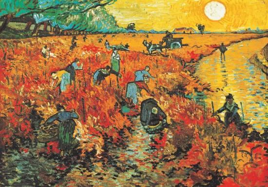 A great painting by Van Gogh with great use of color
