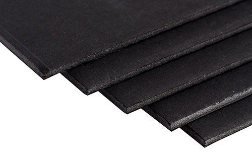black-foam-backing