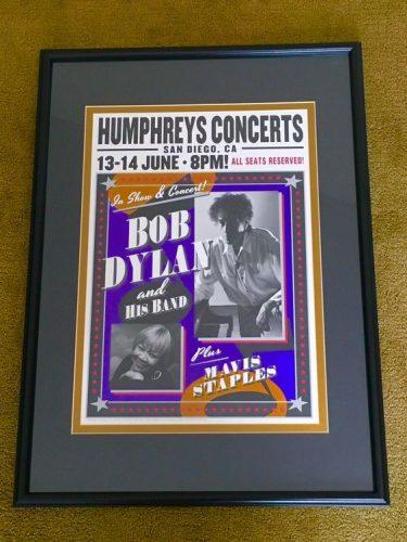 Bob Dylan Matboard by Jennifer H
