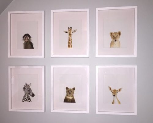 Childrens Room Wall display by Lauren