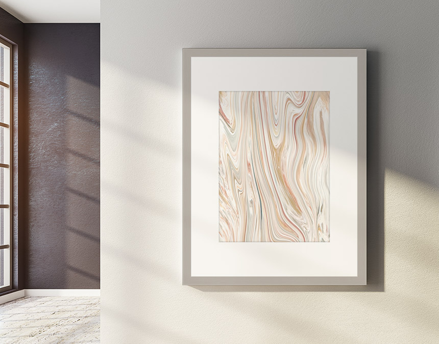 contemporary picture frames in custom colors and sizes with wholesale discounts