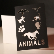 sampling of various animals we can cut out